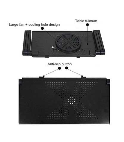 میز خنک کننده لپ تاپ کیو وای اچ مدل M-2019 محصول بانو مد Products
