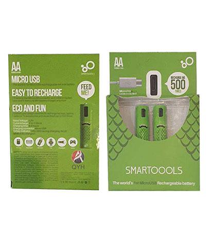 باتری قابل شارژ قلمی کیو وای اچ مدل 500 بسته دو عددی محصول بانو مد Products