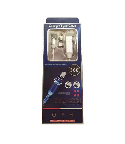 کابل تبدیل USB برای اندروید و آیفون کیو وای اچ مدل M-1200 محصول بانو مد Products