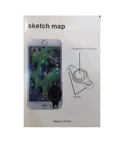 دسته بازی گوشی موبایل مدل sketch map محصول بانو مد Products