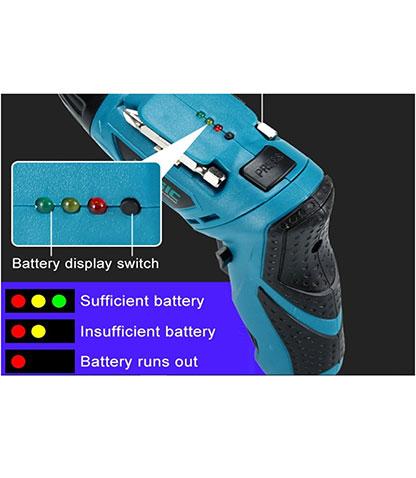 دریل پیچ گوشتی شارژی کادبلیو مدل N4.8 محصول بانو مد Products