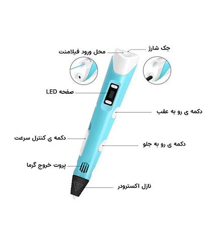 قلم سه بعدی طراحی بانومد مدل ZD-PEN2