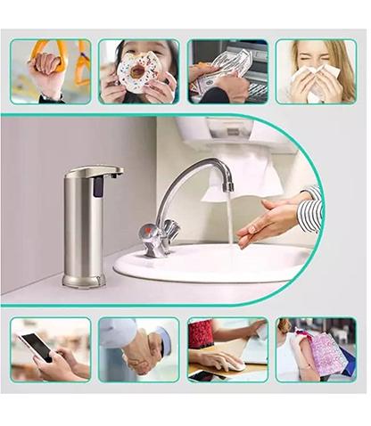 پمپ مایع دستشویی اتوماتیک محصول بانو مد Products