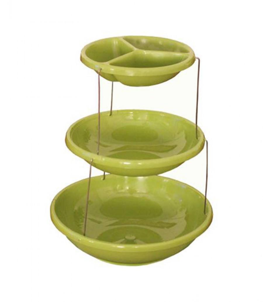 قیمت و خرید اردو خوری سه طبقه مدل Twist اردو خوری سه طبقه مدل Twist بانو مد