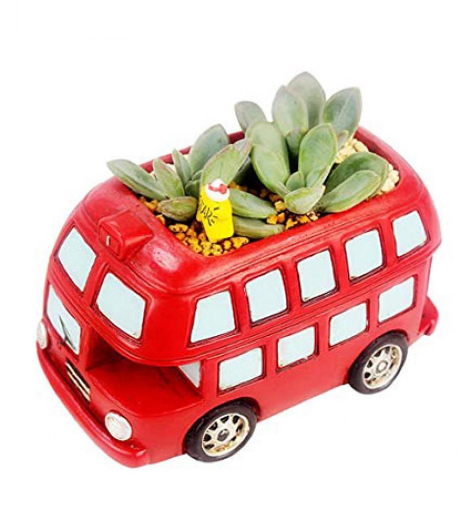 قیمت و خرید گلدان طرح اتوبوس مدل ck012 گلدان طرح اتوبوس مدل ck012 بانو مد