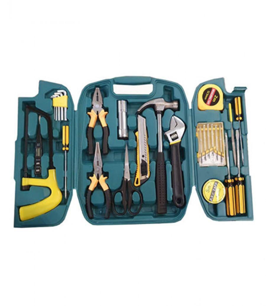 قیمت و خرید جعبه ابزارآلات کیو وای اچ جعبه ابزار کیو وای اچ 27 عددی بانو مد