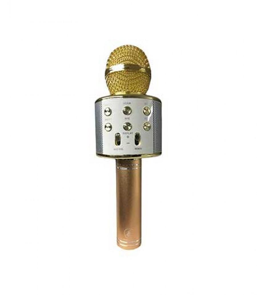 قیمت و خرید اسپیکر میکروفن دار بلوتوثی 858 میکروفن اسپیکردار بلوتوثی 858 بانو مد