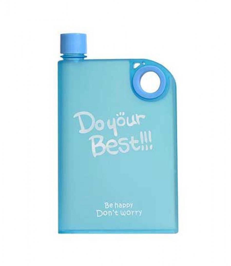 قیمت و خرید قمقمه کتابی پلاستیکی آنترا مدل Do Your Best قمقمه کتابی پلاستیکی آنترا بانو مد