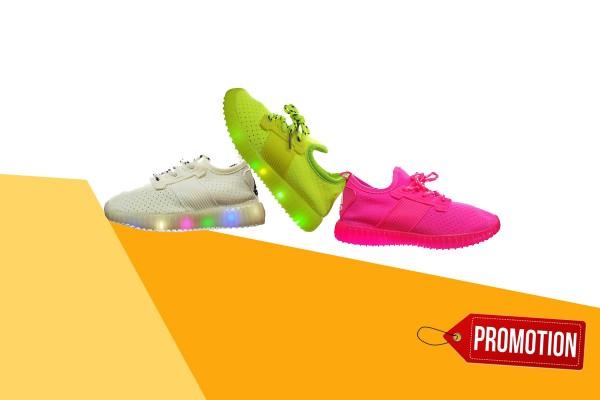 فروش ویژه کفش چراغ دار بچگانه