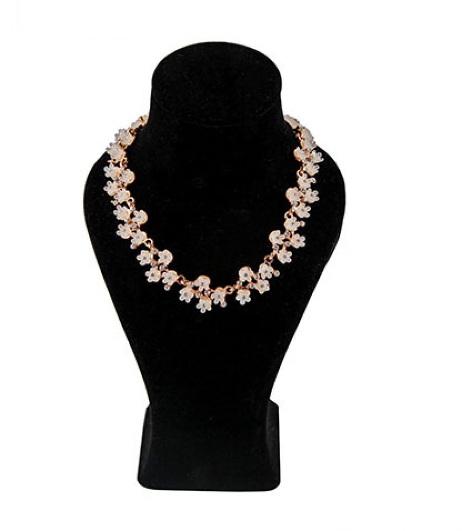 قیمت و خرید گردنبند شکوفه گردنبند شکوفه رنگ ثابت سایز متغیر بانو مد
