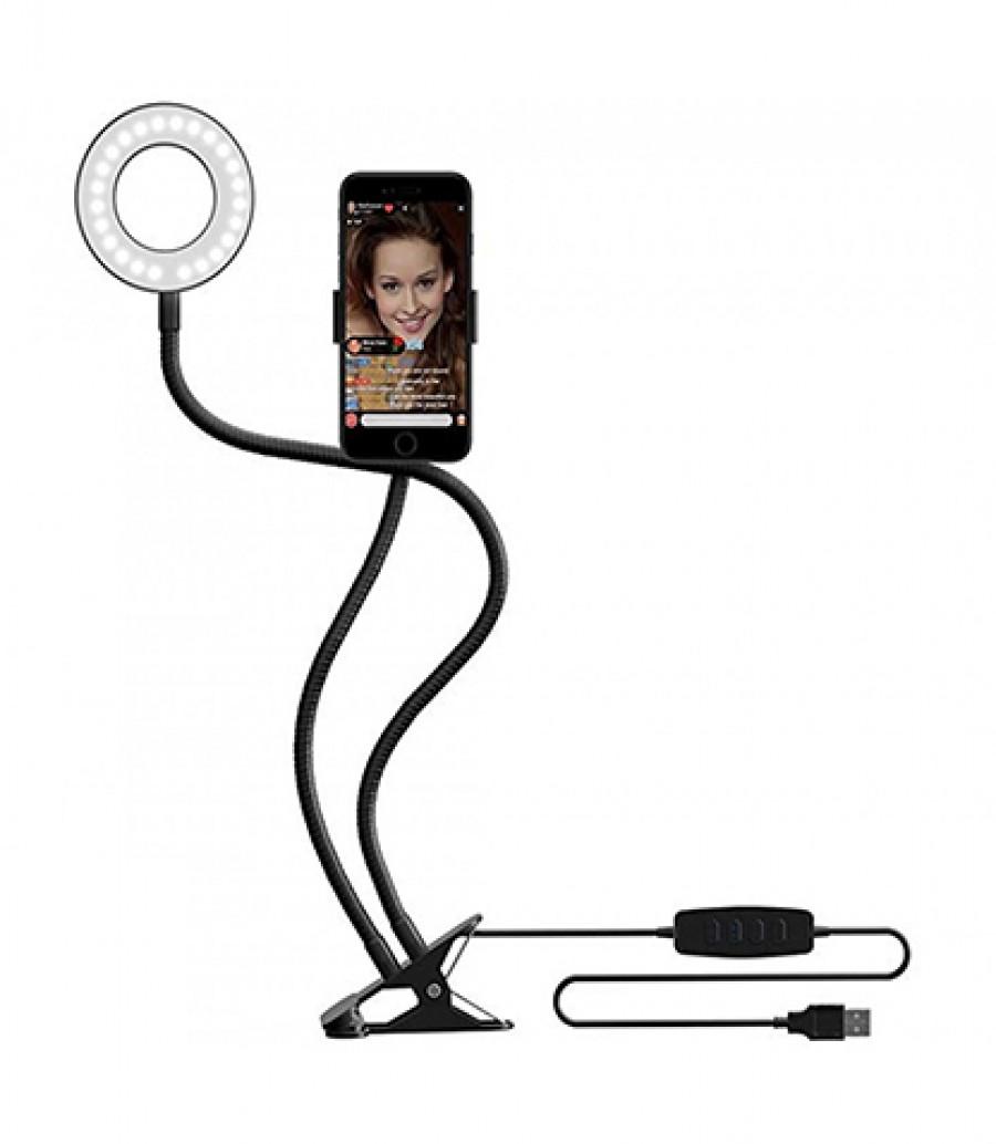 قیمت و خرید رینگ لایت مدل a22 رینگ لایت-رینگ لایت برای موبایل-رینگ لایت رومیزی بانو مد