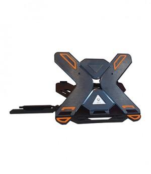 پایه نگهدارنده لپ تاپ 360 درجه- پایه لپ تاپ- میز لپ تاپ- کول پد- پایه رومیزی لپ تاپ