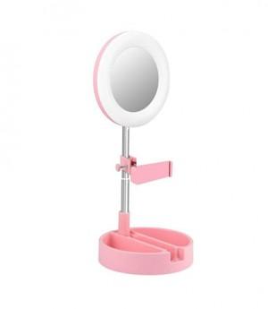 آینه آرایشی چراغدار-آینه آرایشی-آینه چراغدار-استند آرایشی بانو مد