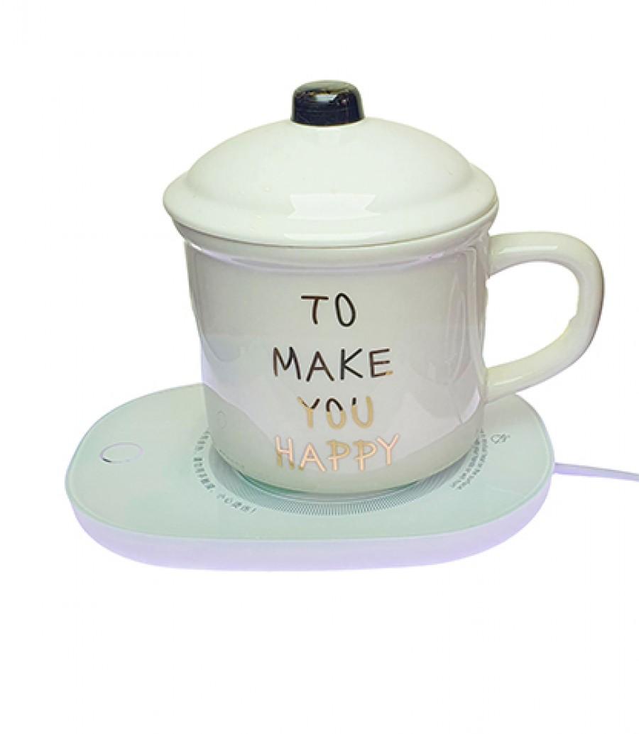 قیمت و خرید ماگ طرح LOVE به همراه گرمکن برقی ماگ-ماگ دردار-ماگ به همراه گرمکن برقی- ماگ طرح LOVE-ماگ LOVE- بانو مد